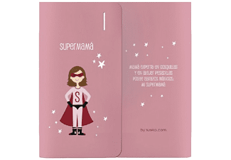 Power Bank 4000 mAh - Susiko Super mama, Rosa
