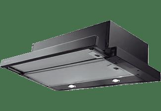 Campana - 315.0486.069 Superline Glass 60 Negra, Extraplana, Panel de control electromecánico, 2