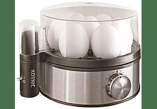 Cuece huevos - Koenic KEB 350 Potencia 400W, Capacidad 6 huevos, Regulador electrónico de potencia