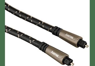 Cable de fibra óptica - Hama 39122262, 1.5m, Negro
