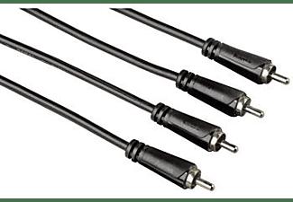 Cable audio - Hama 00122283, 2 RCA, 2 RCA, 3 m.
