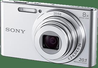 Cámara - Sony Cyber-shot DSC-W830S, 20.1 Mp, Zoom 8x, HD, Plata