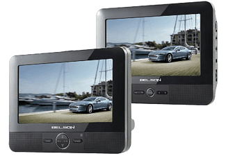 "DVD Portátil - Belson Dual 81V2 Doble pantalla de 7"""