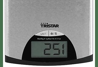 Balanza de cocina - Tristar KW-2435 Peso máximo 5Kg, Escala de medición 1g, Display digital