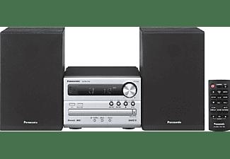 Microcadena - Panasonic SC-PM250 EC-S, 20 W, Bluetooth, USB, CD, Radio FM, Plata