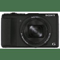 Cámara - Sony Cyber-Shot DSC-HX60, Sensor CMOS Exmor R, 20.4 MP, Zoom óptico 30x, Vídeo Full HD, Negro