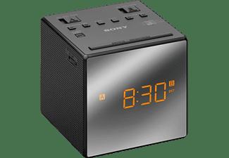 Despertador - Sony ICF-C1TB, Negro, Alarma Dual