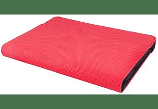 Funda con teclado para tablets de 10,1 pulgadas - Silver HT Gripcase, rojo, aluminio