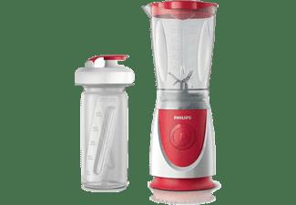 Batidora de vaso - Philips HR2872/00 Compacta, 350W, Incluye botella para llevar