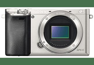 Cámara EVIL - Sony ILCE 6000S Plata, Body, Sensor APS-C, WiFi, NFC, BIONZ X