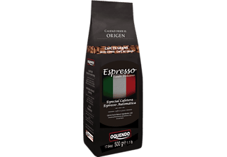 Café en grano - Oquendo Espresso Natural, Tueste italiano, 500 gr