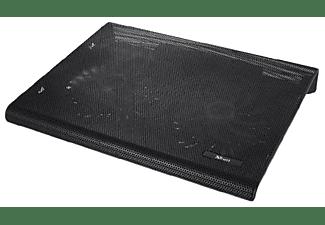 """Soporte con ventilador - Trust 20104, Portátiles hasta 17,3"""", Negro"""