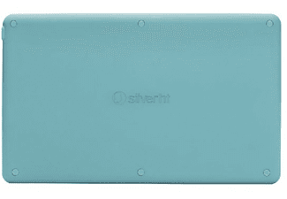 Teclado inalámbrico - SilverHT Wireless Bluetooth, Universal, Azul