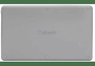 Teclado inalámbrico - SilverHT Wireless Bluetooth, Universal, Carga Micro USB, Gris