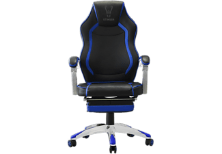 Silla gaming - Woxter Stinger Station RX, Negra y Azul