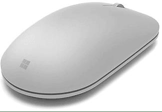 Ratón inalámbrico - Microsoft Surface WS3-00006, Bluetooth, Laser, mano derecha, Gris