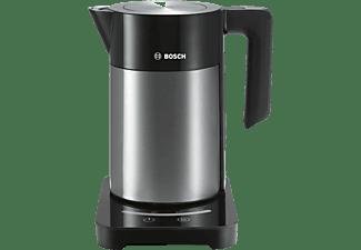 Hervidor de agua - Bosch TWK7203, Potencia 2200 W, Capacidad de 1.7 L, TouchControl, Inox