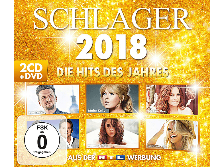 VARIOUS - Schlager 2018-Die Hits Des Jahres [CD + DVD Video]