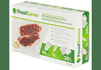 Bolsas conservadoras de alimentos - FoodSaver FGP252X-01 Combo Pack, Sellado al vacio