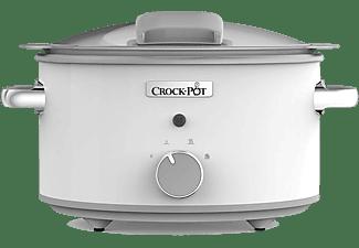 Olla de cocción lenta - CrockPot CSC038X, 4.5L, cuadro de mando manual, antiadherente DuraCeramic