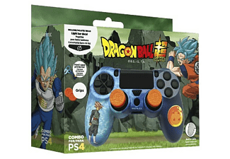 Pack accesorios - FR-TEC Dragon Ball Combo Pack, Carcasa + Grips + Led