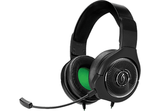 Auriculares gaming - PDP Afterglow AG6, negro, compatibles con XBox One, con cable, micrófono,