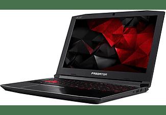 """Portátil gaming - Acer Predator Helios 300, 15.6"""", Full HD, i7-7700HQ, 8GB RAM, 1TB HDD +"""