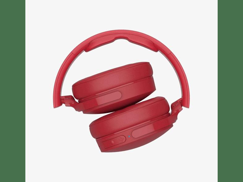 Aprendiz Musgo atraer  Auriculares inalámbricos - Skullcandy Hesh 3, Bluetooth, Cancelación de  ruido, Carga rápida, Rojo