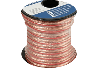 Cable para Altavoz 2X 2.5 mm 10 Metros Transparente