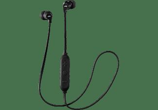 Auriculares inalámbricos - JVC HA-FX21BT-BE, Bluetooth, IPX2, Micrófono, Negro