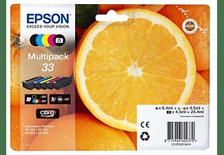 Cartuchos de tinta - Epson C13T33374011, Negro, Cian, Amarillo