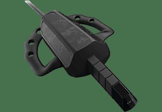 Auricular gaming - Gioteck TX-1 Tactical Comms, Para Xbox One y PS4, Mono chat, Cable antienredos, Negro