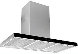 Campana - Teka DLH 986 T, 90cm, Decorativa, 701 m3/h, 3 velocidades + intensiva, Programable, De pared