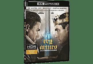 Rey Arturo: La leyenda de Excalibur - Blu-Ray 4K
