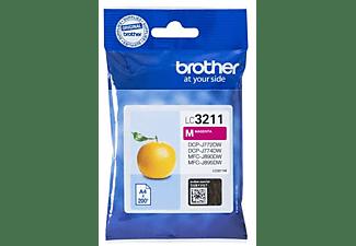 Cartucho de Tinta - Brother LC-3211M, 200 Páginas, Magenta