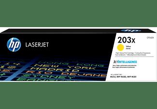 Tóner - HP 203X LaserJet , Amarillo, CF542X