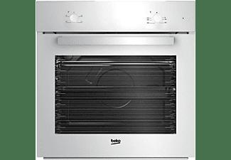 Horno - Beko BIC21000W, Convencional, Integrable, 4 funciones, 67 L, 60 cm, A, Blanco
