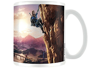 Taza - Sherwood The legend of Zelda: Breath Of The Wild (The Climb), cerámica, 312ml