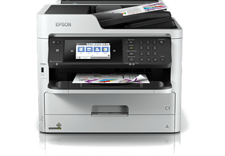 Impresora multifunción - Epson WorkForce Pro WF-C5790DWF, Inyección tinta, 34 ppm, 250 hojas,