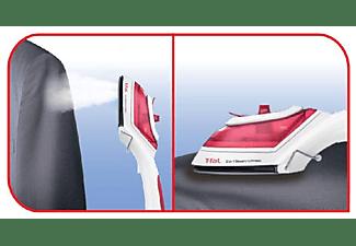 Plancha de vapor vertical - Tefal DV8610 Steam N Press 2 en 1, 3 Temperaturas, Capacidad de 70 ml