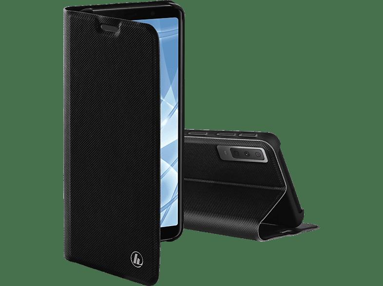 HAMA Slim Pro , Bookcover, Samsung, Galaxy A7 (2018), Polyurethan, Schwarz