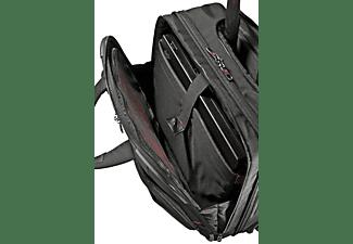 Trolley para portátil - Samsonite Pro-DLX, hasta 16.4 pulgadas, color negro, 2 ruedas, cierre con