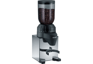 GRAEF CM 820 Kaffeemühle Hochglanz-Edelstahl (128 Watt, Edelstahl-Kegelmahlwerk)