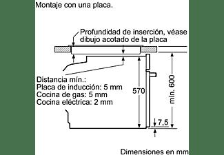 Horno - Balay 3CB5351N0, Compacto, Multifunción, 47 L, Integrable, 7 funciones, Grill, 45.5 cm