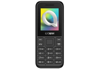 "Móvil - Alcatel 1066D, 1.8"" QQVGA, 4 MB RAM, Cámara trasera, Micro SD, Negro"