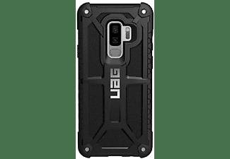 Carcasa - Urban Armor Gear Monarch, Samsung Galaxy S9+, Cuero, Negro