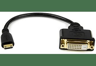 Adaptador - StarTech.com HDCDVIMF8IN Adaptador Cable 20cm Mini HDMI a DVI-D para Tablet y Camara