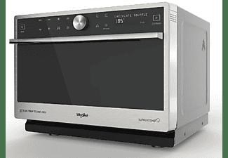 Microondas - Whirlpool MWP 3391 SX, 1000 W, Grill 1200 W, 33 L, Cavidad XXL, Tecnología Dual Crisp