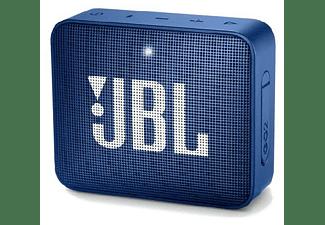 Altavoz inalámbrico - JBL GO 2 Blue, 3 W, Bluetooth, IPX7, Micrófono, Azul