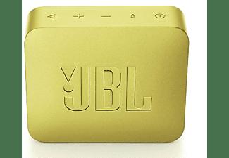 Altavoz inalámbrico - JBL GO 2 Yellow, 3 W, Bluetooth, IPX7, Micrófono, Amarillo